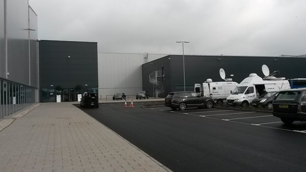 Jaguar Land Rover Centre near Wolverhampton