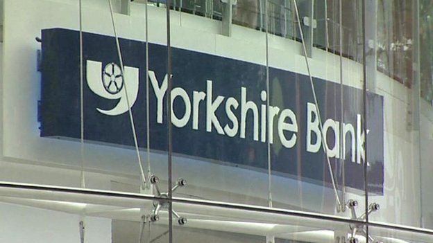 Yorkshire Bank sign
