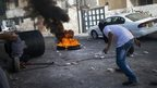Palestinians in clashes with police as they try to arrest shooting suspect - 30 October