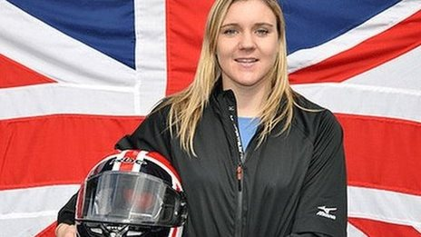 British bobsleigher Serita Shone