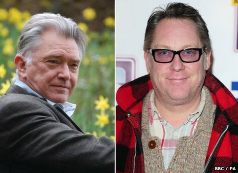 Martin Shaw and Vic Reeves