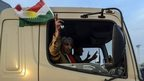 Iraqi Kurd fighters 'enter Kobane'