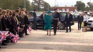 The Queen in the West Midlands