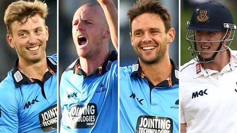 Will Beer, Lewis Hatchett, Steffan Piolet and Luke Wells