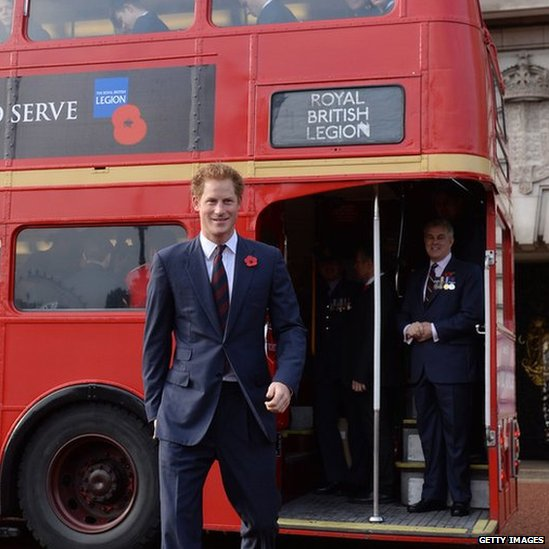Prince Harry Meets Stars To Support Poppy Appeal