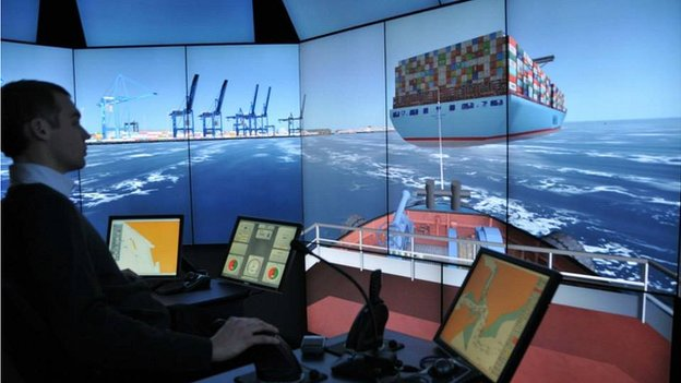 HR Wallingford Ship Simulator