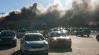 Photo of smoke at Wichita airport
