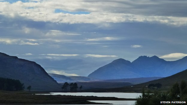 Loch Droma and An Teallach