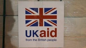 UK aid label