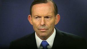 Prime Minister Tony Abbott speaks to the media at Sydney Commonwealth Parliamentary Offices - 19 September 2014