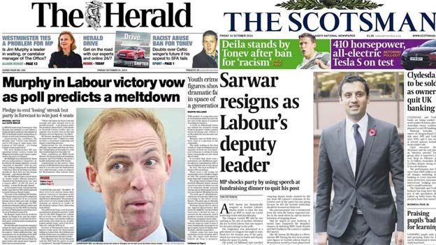 The Herald and the Scotsman