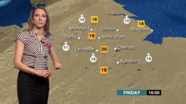 Mel Coles, BBC Weather