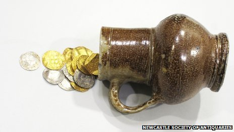Lindisfarne hoard of coins