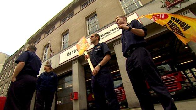 Firefighters' strike