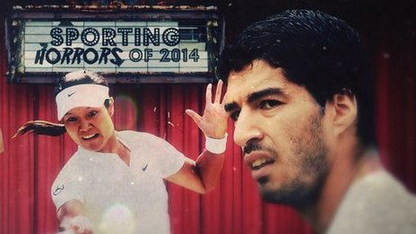Sporting Horrors of 2014