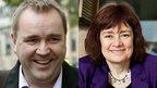 Neil Findlay and Sarah Boyack