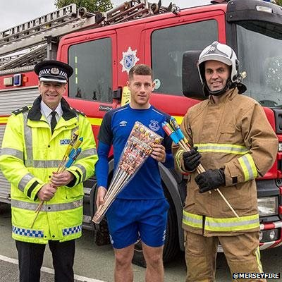 Ross Barkley and emergency services