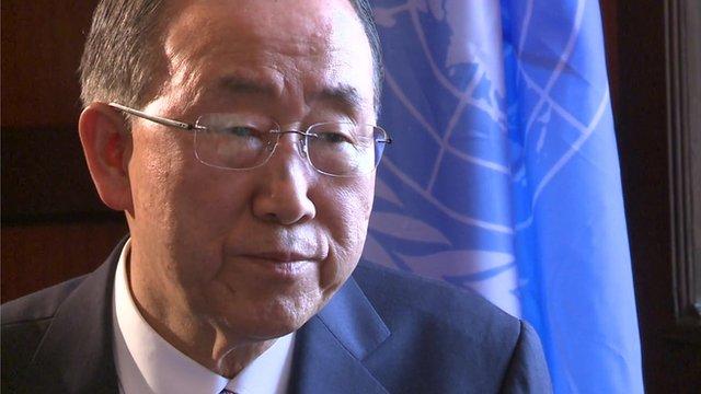 UN chief defends Ebola aid workers...