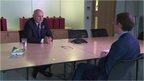 Iain Duncan Smith with Chris Mason