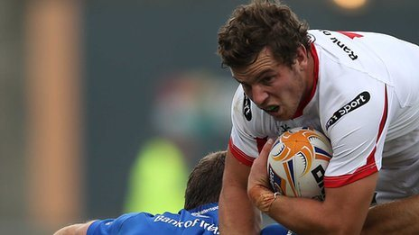 Sean Reidy will make his competitive debut for Ulster against the Dragons
