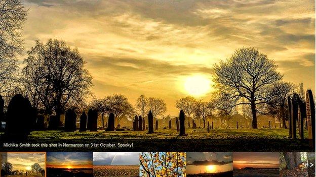 Selection of autumnal photos