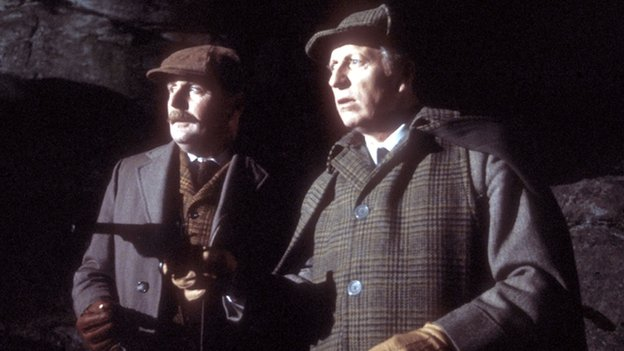Tom Baker as Sherlock Holmes