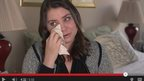 Brittany Maynard talks about her condition in a Youtube video.