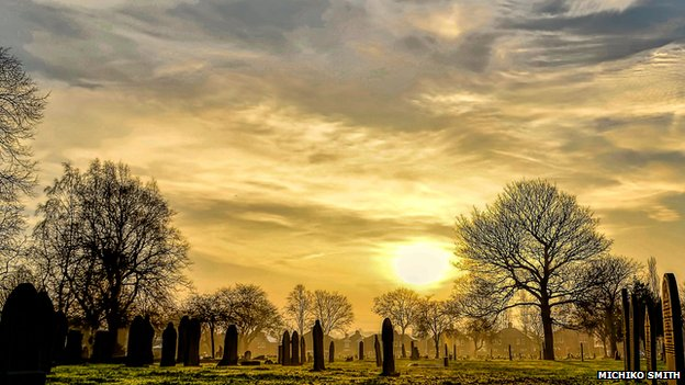 Sunrise in Normanton