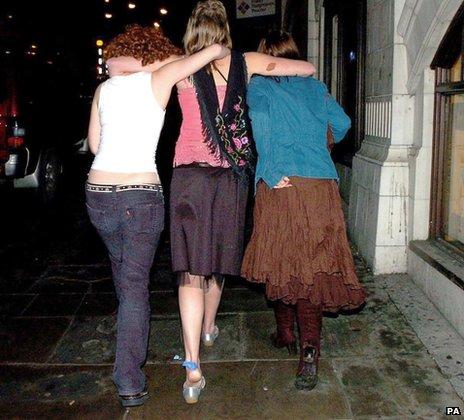 Women revellers