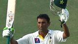 Younus Khan acknowledges his double century against Australia