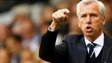 Newcastle United manager Alan Pardew