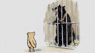 Still from Winnie the Pooh book
