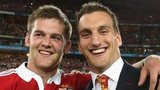 Dan Lydiate (L) and Sam Warburton (R)