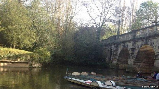 Magdalen Bridge