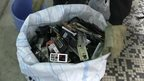 Recycling mobile phones