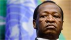 Burkina Faso's President Blaise Compaore resigns