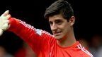 Courtois eyes league and Euro double