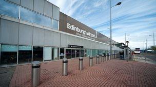 Edinburgh Airport terminal building
