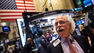 Trader New York Stock Exchange
