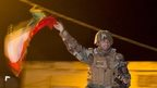 Iraqi Kurdish Peshmerga fighter leaves for Kobane, 31 Oct