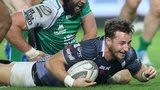 Martin Roberts scores the Ospreys' second try against Connacht