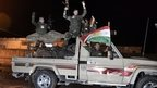 VIDEO: Peshmerga fighters 'in Kobane'