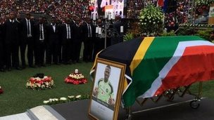 Senzo Meyiwa's funeral