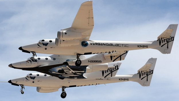 Virgin Galactic's SpaceShip