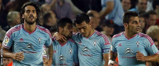 Celta Vigo goal