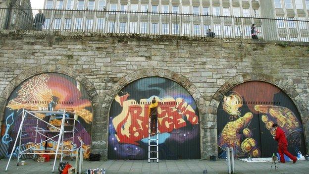 edinburgh street art project