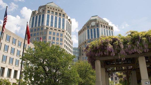 Procter & Gamble is based in the US city of Cincinnati, Ohio