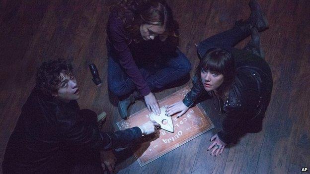 A still from the film Ouija