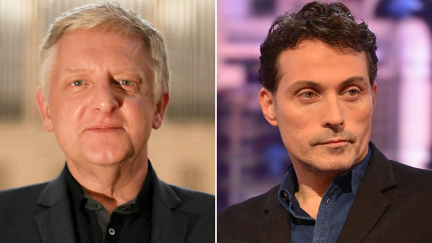 Simon Russell Beale and Rufus Sewell