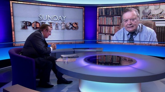Andrew Neil and Ken Clarke